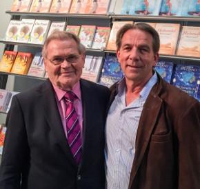 Werner Vogel mit Reimar Banis